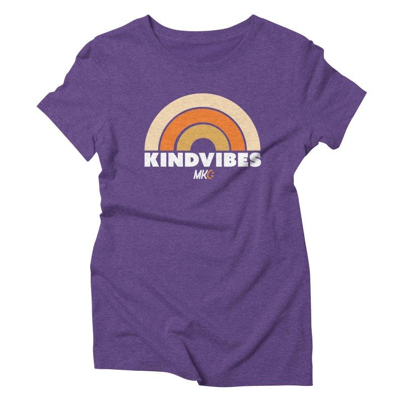 Kind Vibes Women's T-Shirt by MakeKindnessContagious's Artist Shop
