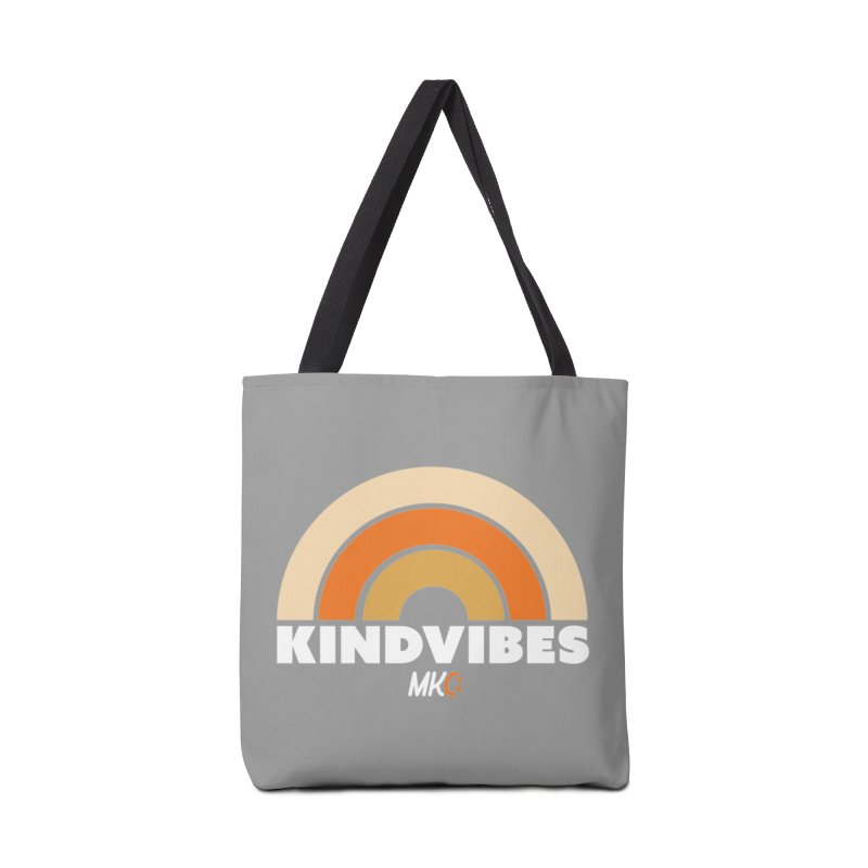Kind Vibes Accessories Bag by MakeKindnessContagious's Artist Shop