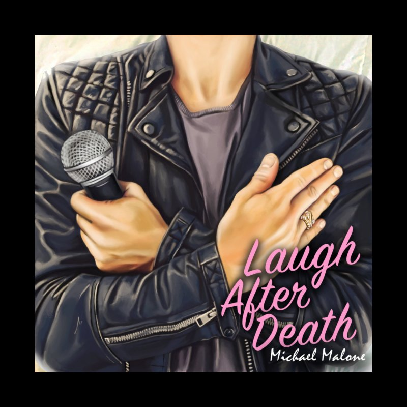 Laugh After Death Merch Accessories Sticker by MaloneComedy's Artist Shop