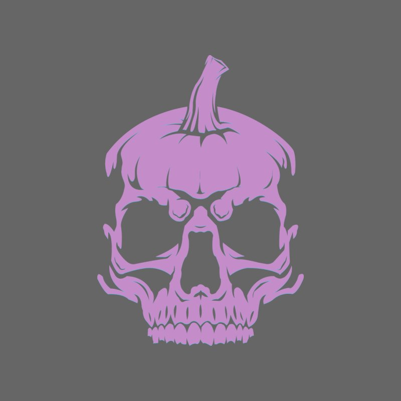 Lavender MPC Pumpkin Skull Logo Men's T-Shirt by Maniac Pumpkin Carvers Merch Shop