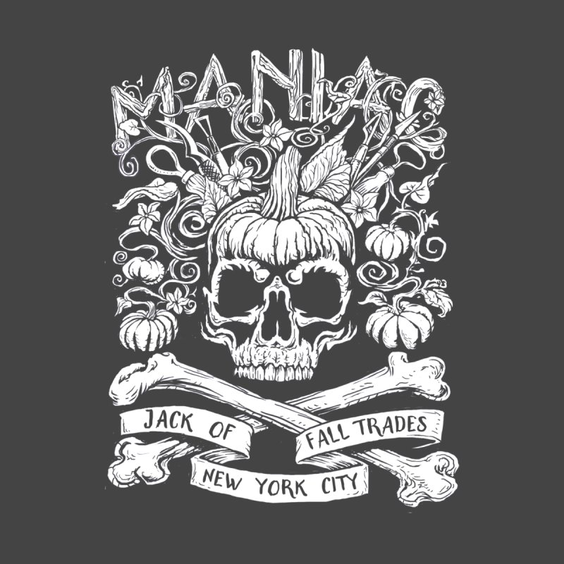 Maniac: Jack of Fall Trades Accessories Zip Pouch by Maniac Pumpkin Carvers Merch Shop