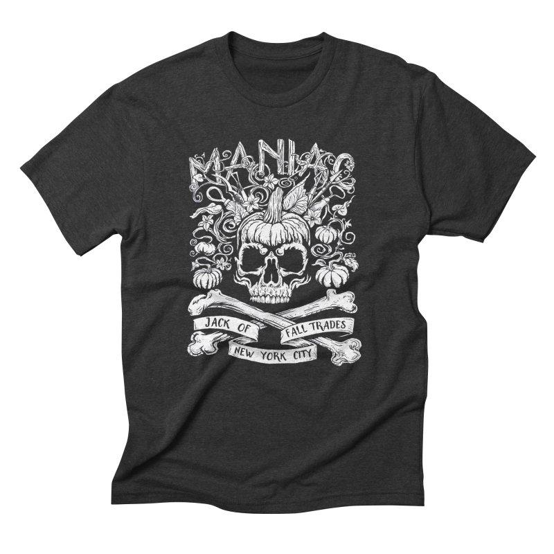 Maniac: Jack of Fall Trades Men's T-Shirt by Maniac Pumpkin Carvers Merch Shop