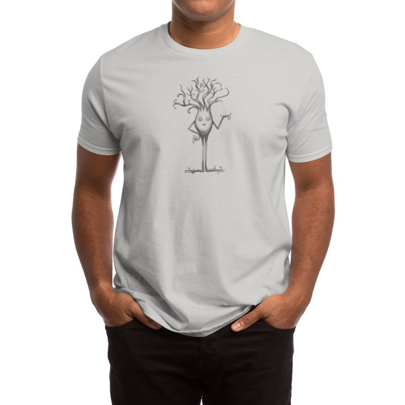 Happy Neuron - hand drawn Men's T-Shirt by The Neuron Family