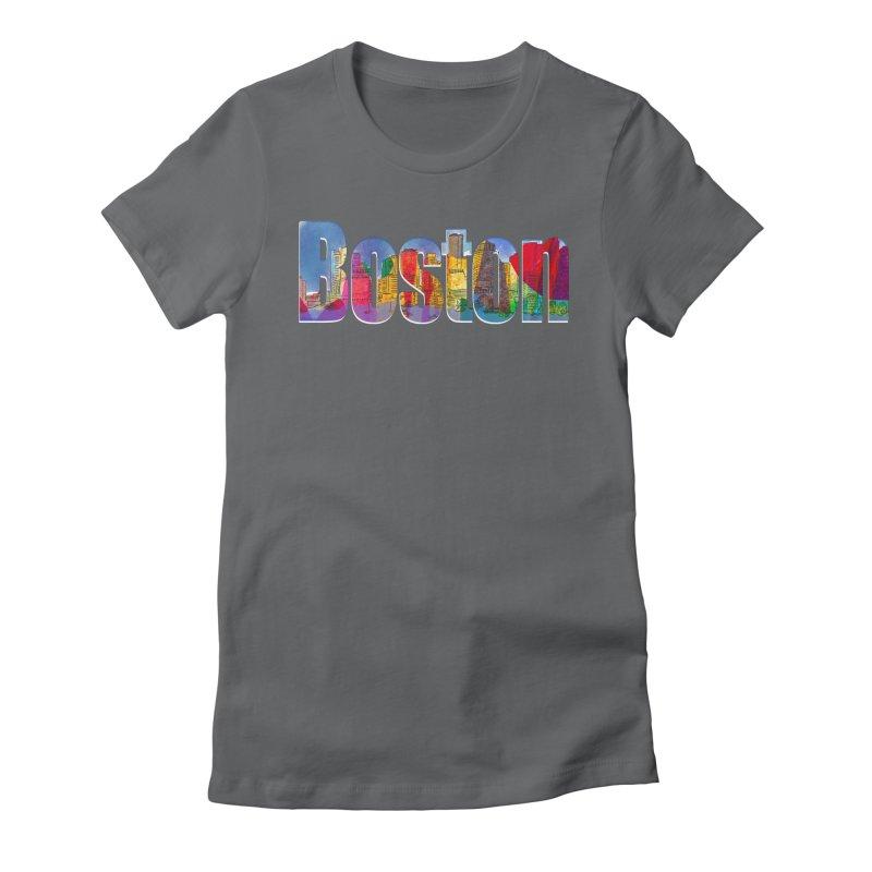 Boston Art Products by Marian Nixon Women's T-Shirt by Mariannixon's Artist Shop