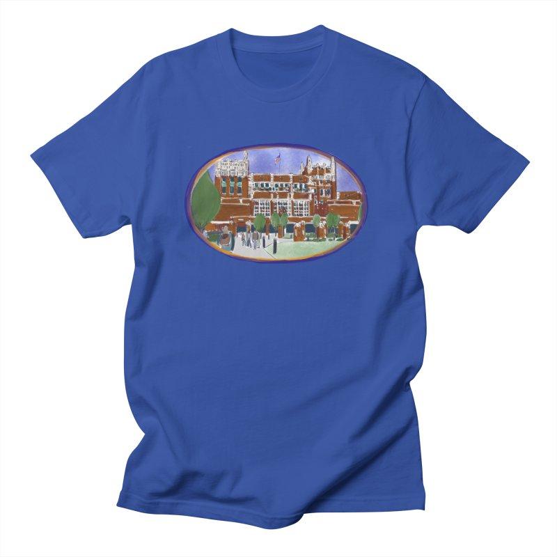 Evanston Township High School by Marian Nixon Men's T-Shirt by Marian Nixon's Artist Shop