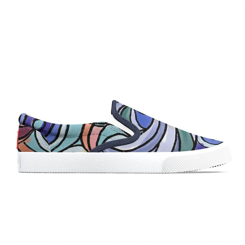 Funky Sixties Design by Marian Nixon Paintings Women's Shoes by Mariannixon's Artist Shop