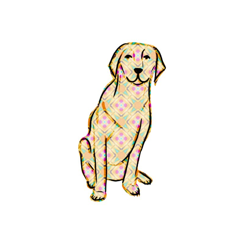 Labrador Retriever by Marian Nixon Paintings Accessories Face Mask by Mariannixon's Artist Shop