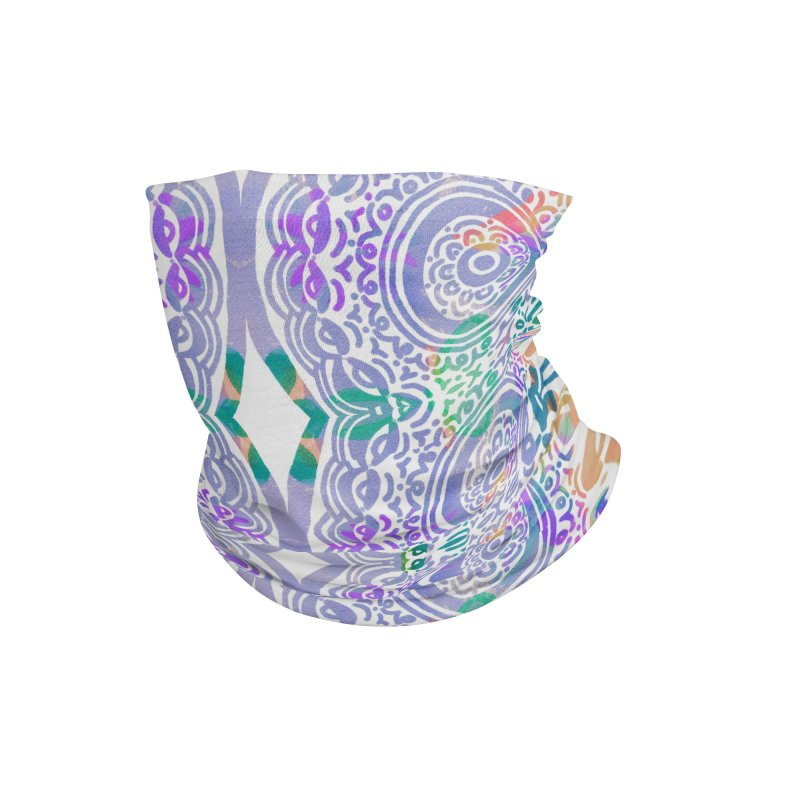 Hip & Groovy by Marian Nixon Paintings Accessories Neck Gaiter by Marian Nixon's Artist Shop