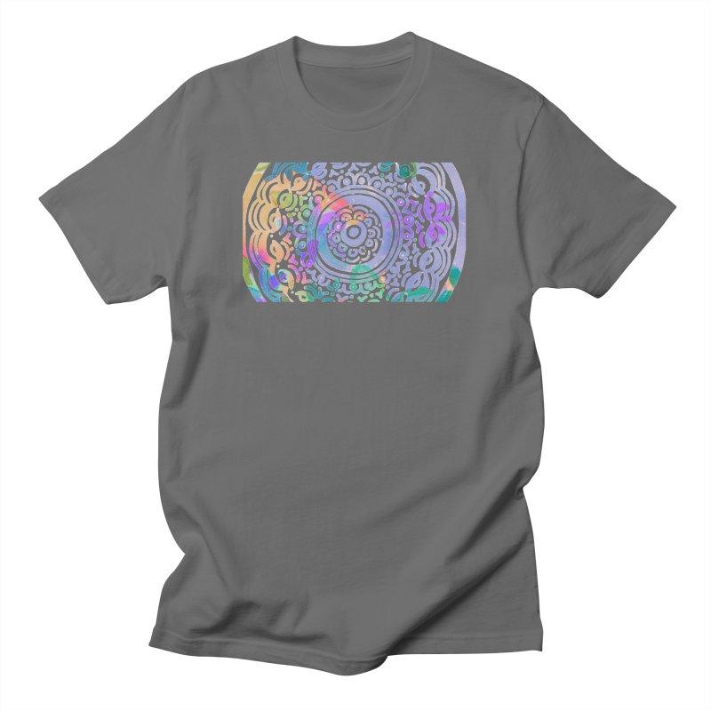 Hip & Groovy by Marian Nixon Paintings Men's T-Shirt by Marian Nixon's Artist Shop