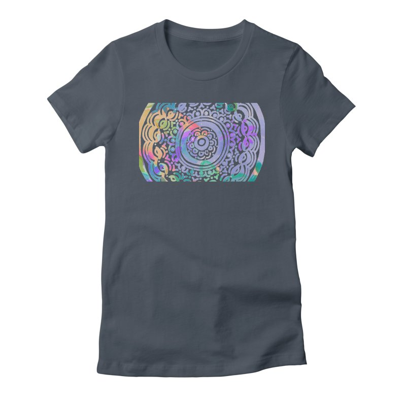 Hip & Groovy by Marian Nixon Paintings Women's T-Shirt by Mariannixon's Artist Shop