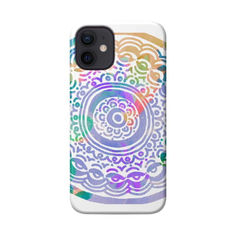 Hip & Groovy by Marian Nixon Paintings Accessories Phone Case by Marian Nixon's Artist Shop