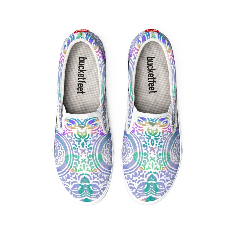 Hip & Groovy by Marian Nixon Paintings Men's Shoes by Marian Nixon's Artist Shop