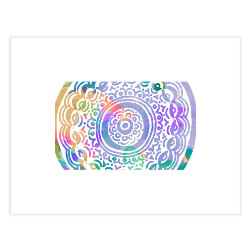 Hip & Groovy by Marian Nixon Paintings Home Fine Art Print by Mariannixon's Artist Shop