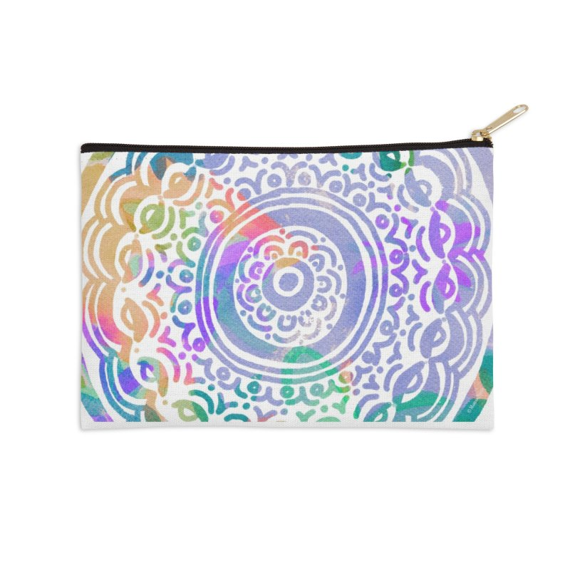 Hip & Groovy by Marian Nixon Paintings Accessories Zip Pouch by Marian Nixon's Artist Shop
