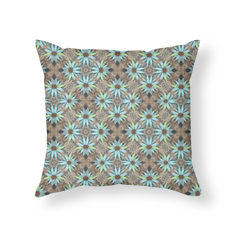 Rustic Fall Wood by Marian Nixon Paintings Home Throw Pillow by Marian Nixon's Artist Shop