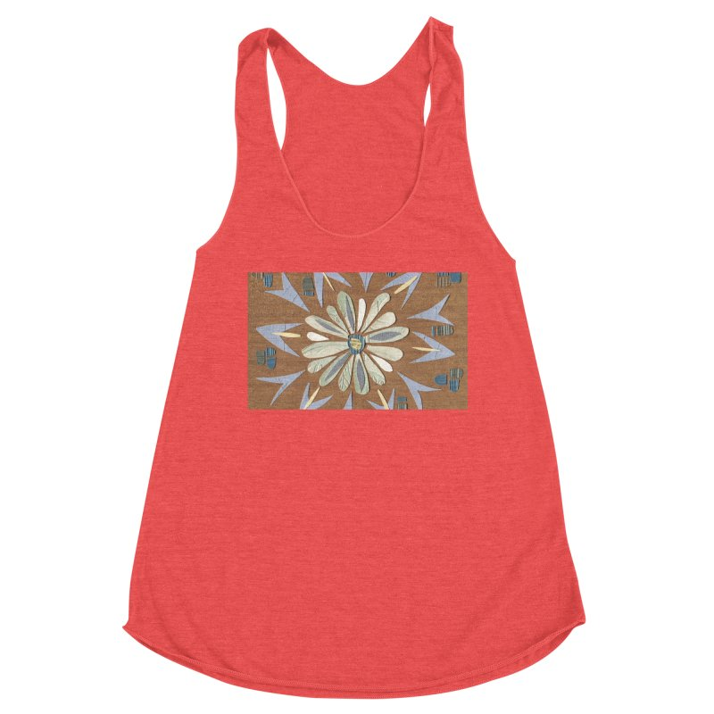 Fall Floral by Marian Nixon Paintings Women's Tank by Mariannixon's Artist Shop