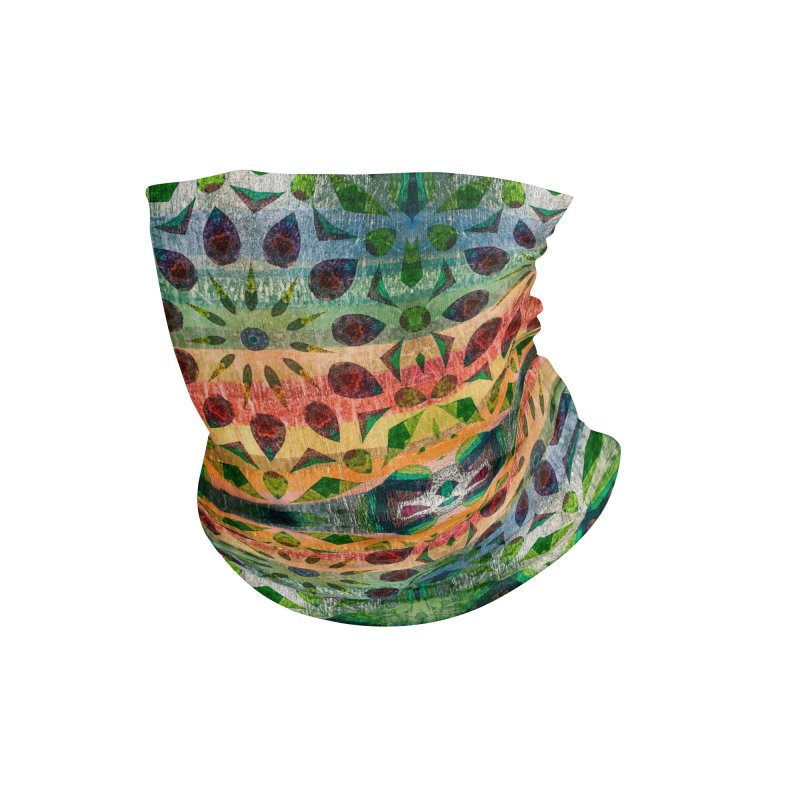 Color Extravaganza by Marian Nixon Paintings Accessories Neck Gaiter by Mariannixon's Artist Shop