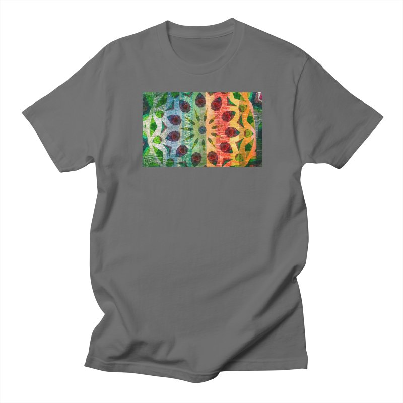 Color Extravaganza by Marian Nixon Paintings Men's T-Shirt by Mariannixon's Artist Shop