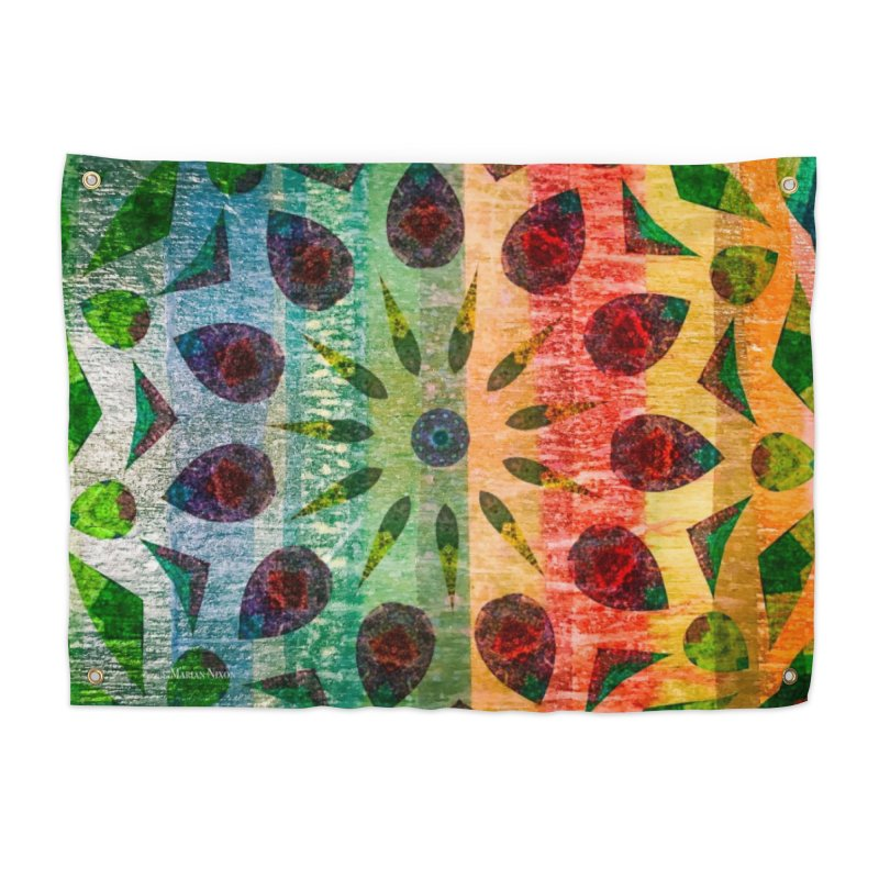 Color Extravaganza by Marian Nixon Paintings Home Tapestry by Marian Nixon's Artist Shop