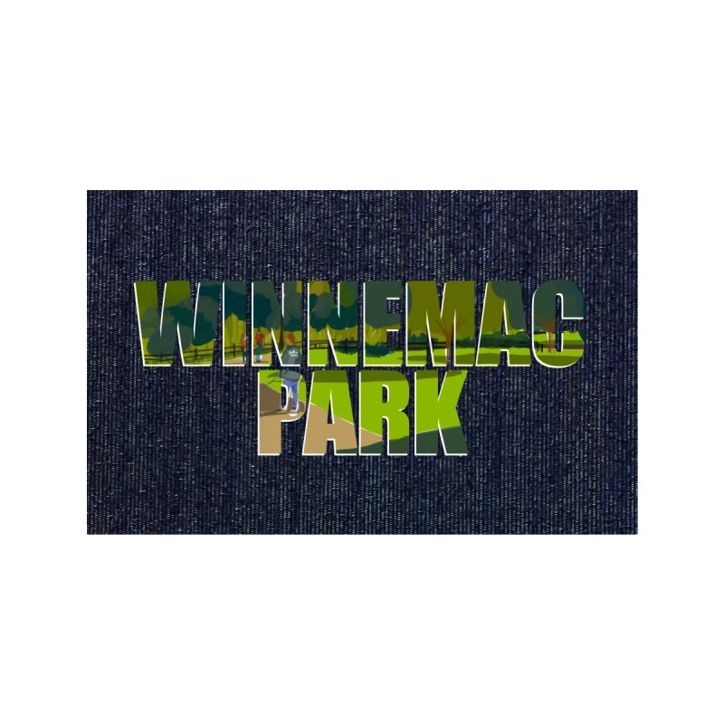 Winnemac Park Chicago by Marian Nixon Paintings Accessories Face Mask by Mariannixon's Artist Shop