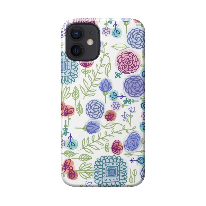 Summer Garden Flowers by Marian Nixon Accessories Phone Case by Marian Nixon's Artist Shop