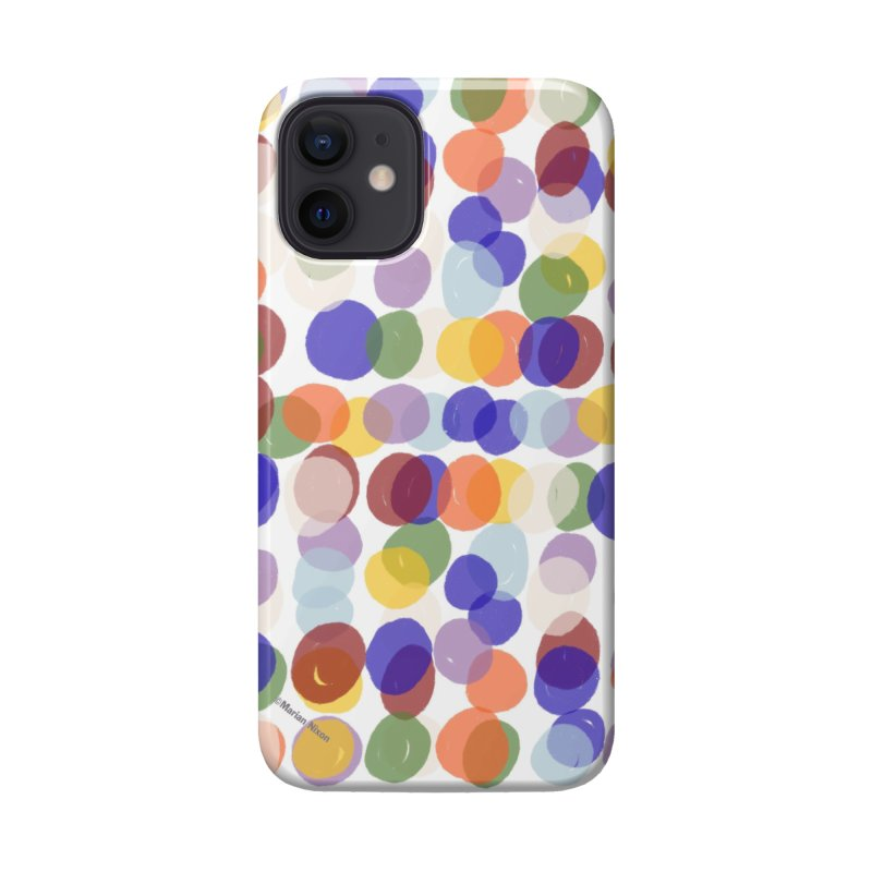 Fun Polka Dots by Marian Nixon Accessories Phone Case by Marian Nixon's Artist Shop