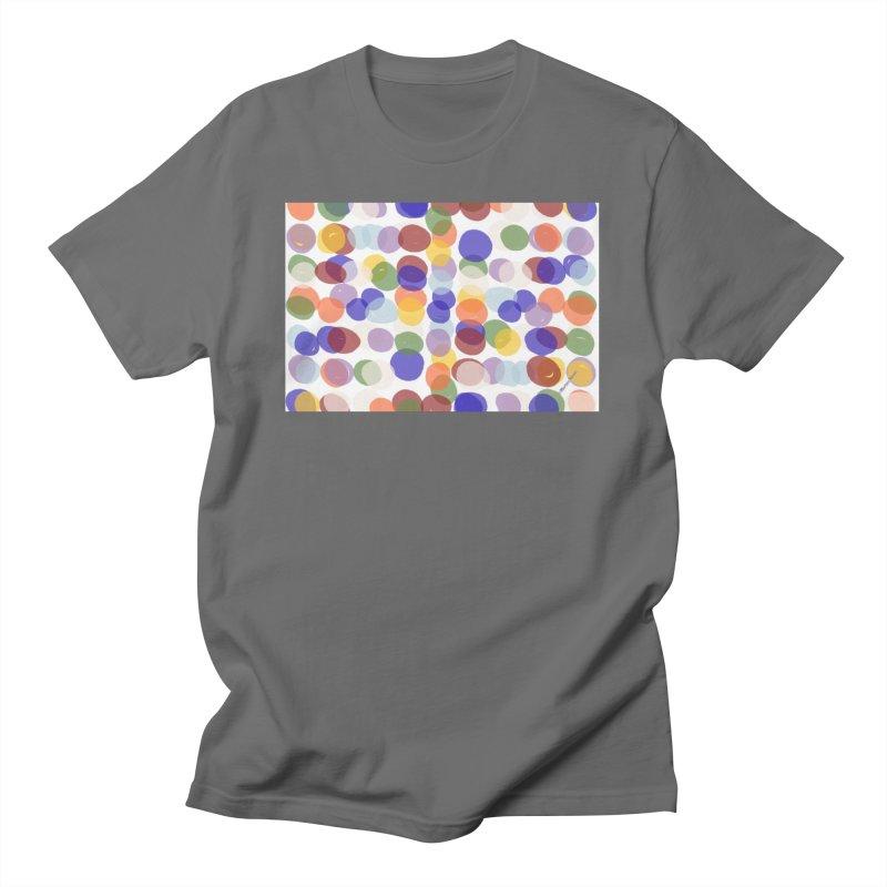 Fun Polka Dots by Marian Nixon Men's T-Shirt by Marian Nixon's Artist Shop