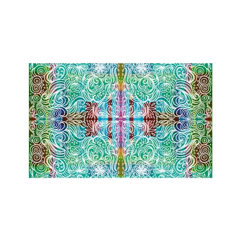 Abstract Teal Swirl by Marian Nixon Men's T-Shirt by Marian Nixon's Artist Shop