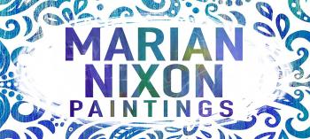 Mariannixon's Artist Shop Logo