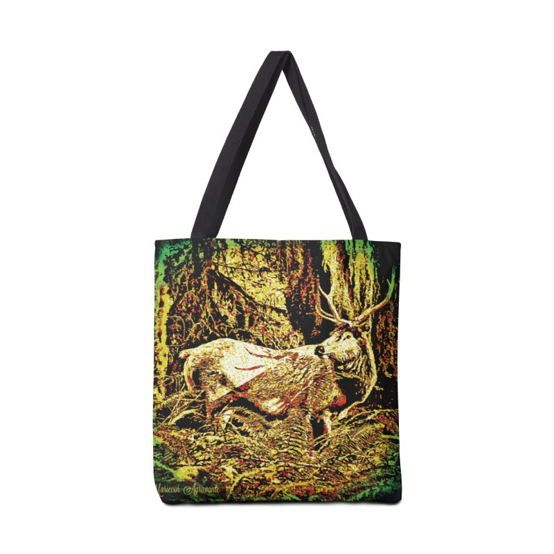 Antlers in the Wild Accessories Tote Bag Bag by MariecorAgravante's Artist Shop