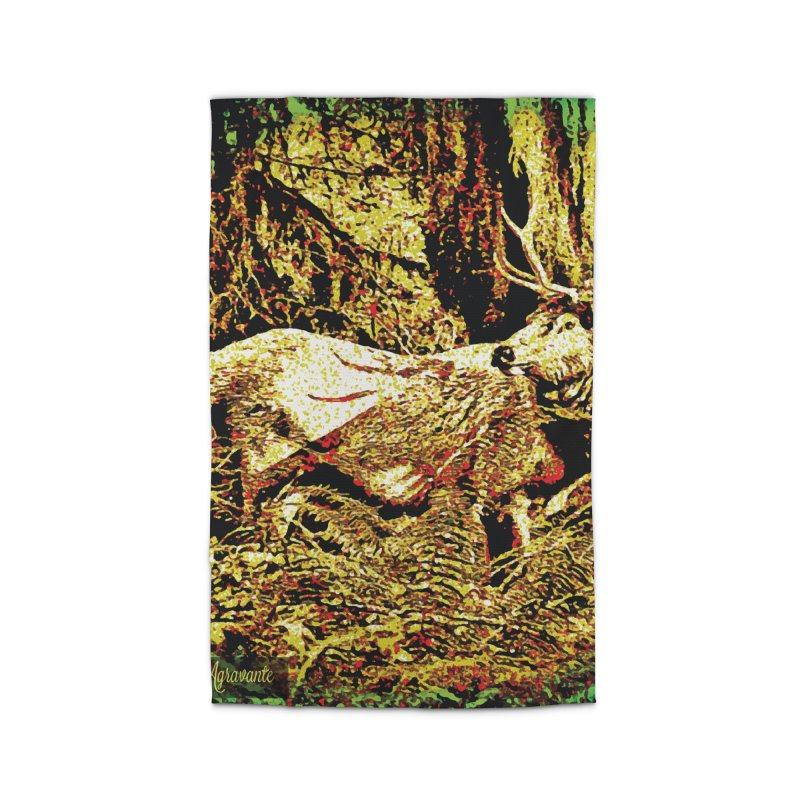 Antlers in the Wild Home Rug by MariecorAgravante's Artist Shop