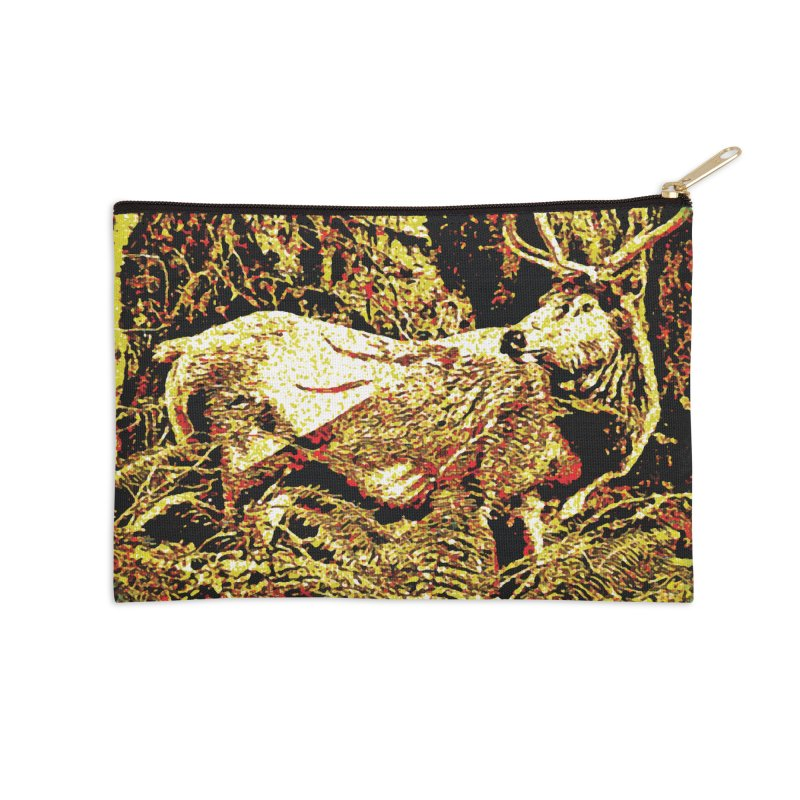 Antlers in the Wild Accessories Zip Pouch by MariecorAgravante's Artist Shop