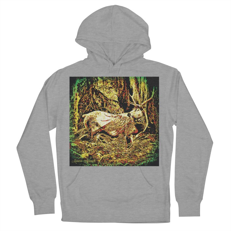 Antlers in the Wild Women's Pullover Hoody by MariecorAgravante's Artist Shop
