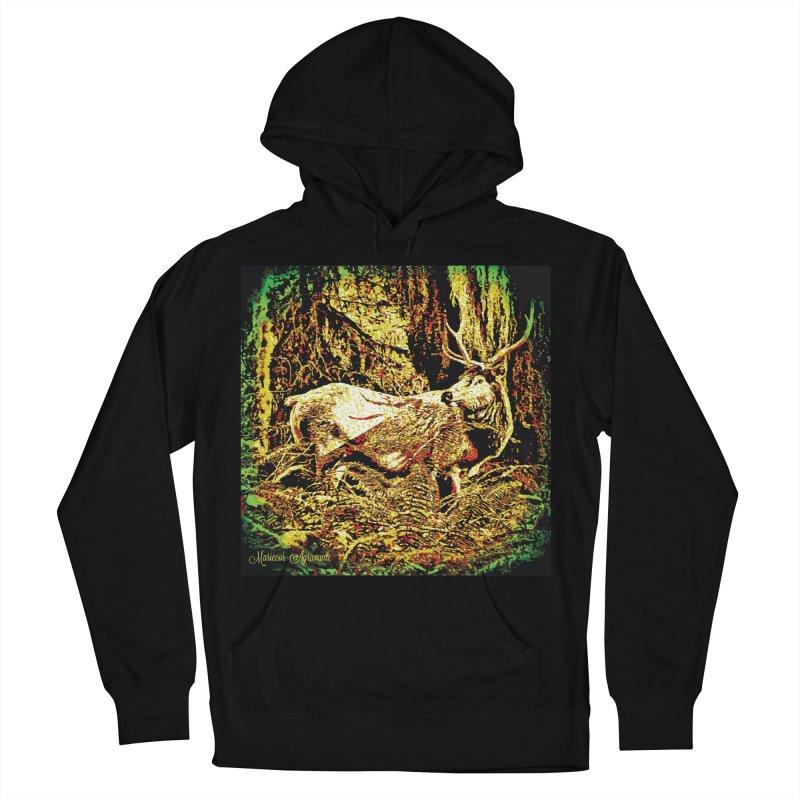 Antlers in the Wild Men's Pullover Hoody by MariecorAgravante's Artist Shop