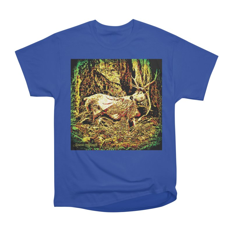 Antlers in the Wild Women's Classic Unisex T-Shirt by MariecorAgravante's Artist Shop