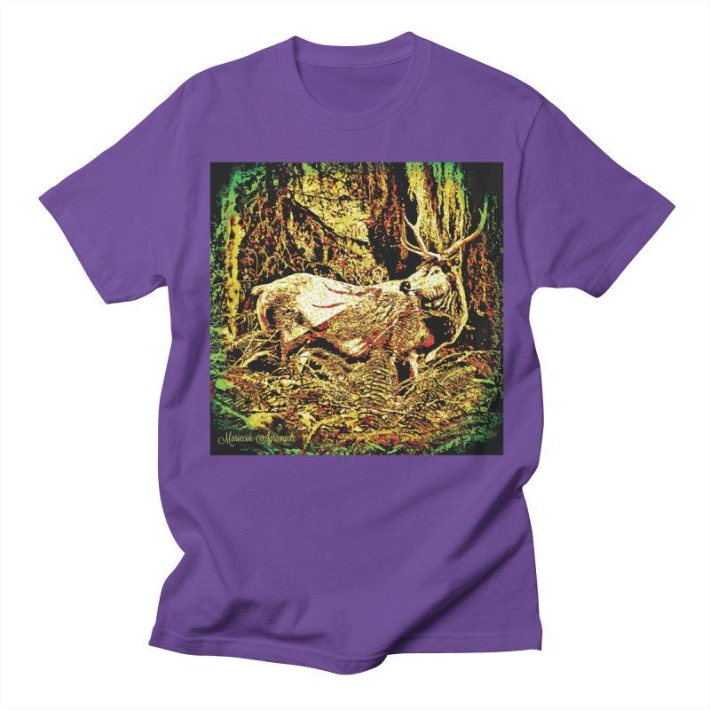 Antlers in the Wild Men's Regular T-Shirt by MariecorAgravante's Artist Shop