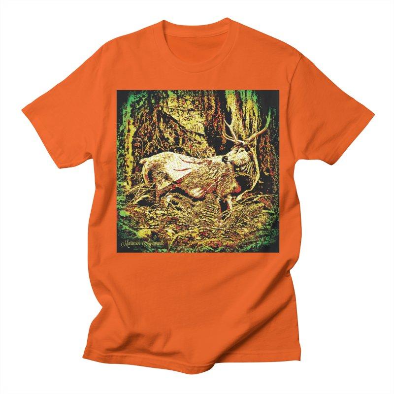 Antlers in the Wild Men's T-Shirt by MariecorAgravante's Artist Shop