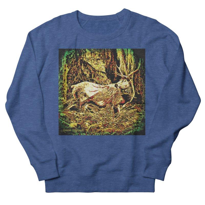 Antlers in the Wild Men's Sweatshirt by MariecorAgravante's Artist Shop
