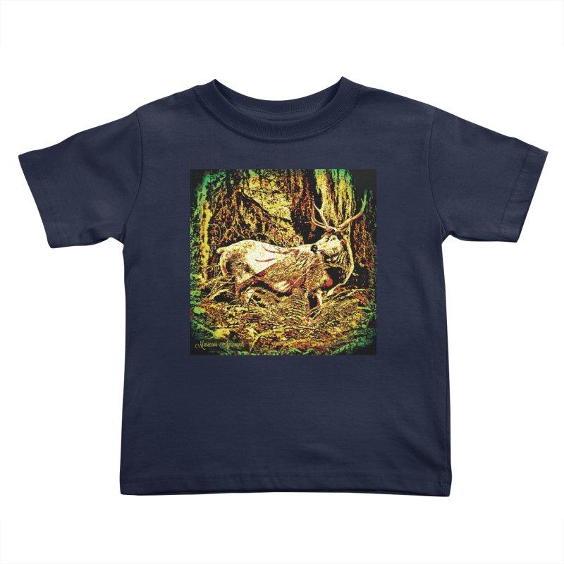 Antlers in the Wild Kids Toddler T-Shirt by MariecorAgravante's Artist Shop