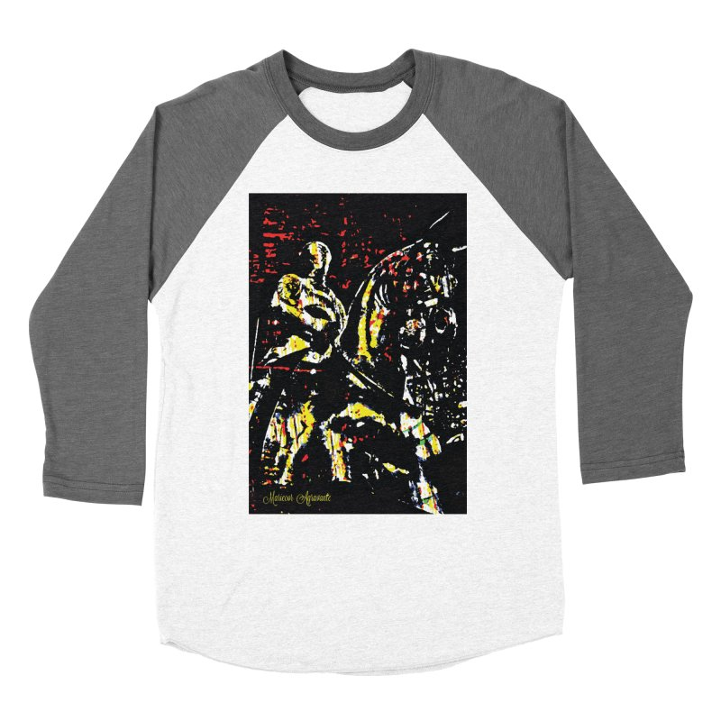 Armored Knight and Steed Women's Longsleeve T-Shirt by MariecorAgravante's Artist Shop