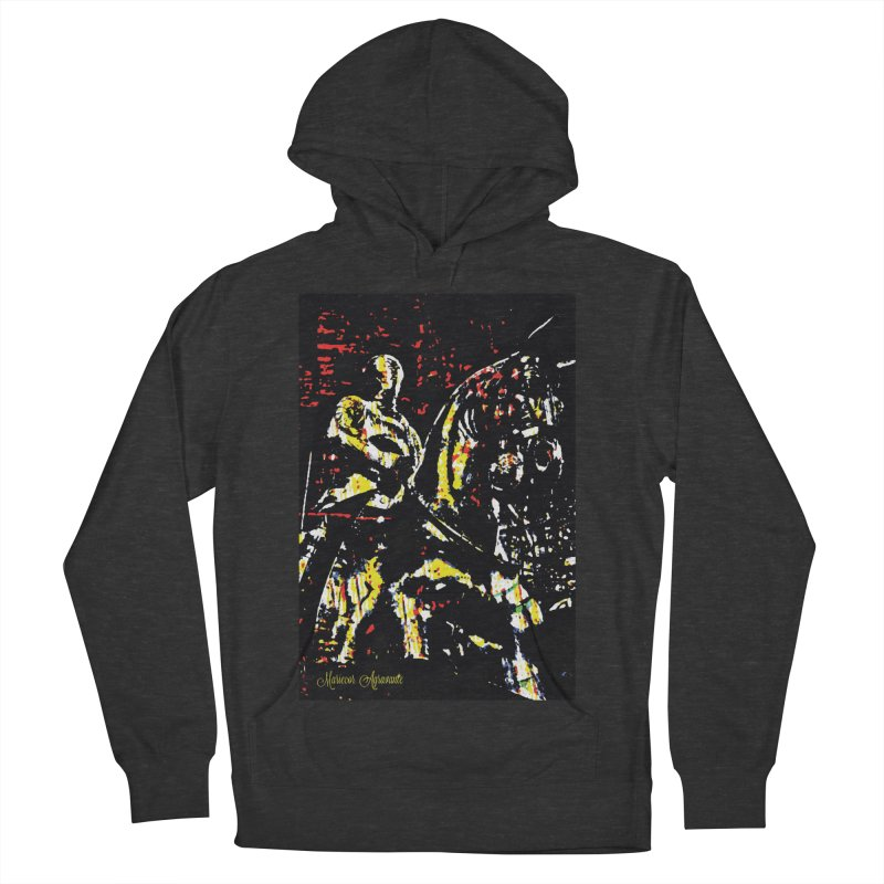 Armored Knight and Steed Women's French Terry Pullover Hoody by MariecorAgravante's Artist Shop
