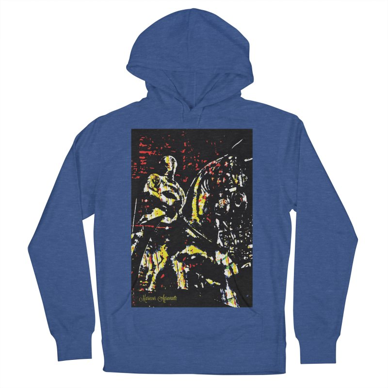 Armored Knight and Steed Men's Pullover Hoody by MariecorAgravante's Artist Shop