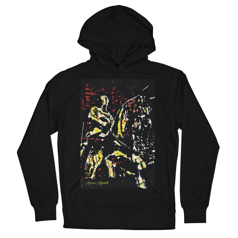 Armored Knight and Steed Men's French Terry Pullover Hoody by MariecorAgravante's Artist Shop