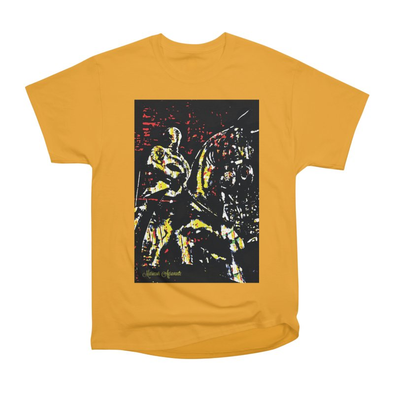 Armored Knight and Steed Men's Classic T-Shirt by MariecorAgravante's Artist Shop