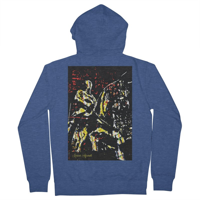 Armored Knight and Steed Women's Zip-Up Hoody by MariecorAgravante's Artist Shop