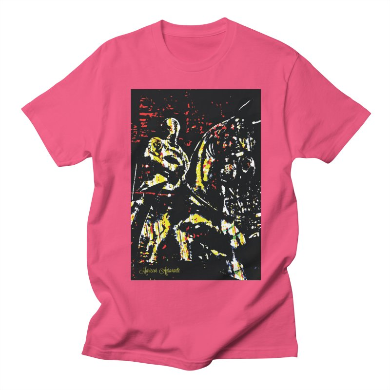 Armored Knight and Steed Men's T-Shirt by MariecorAgravante's Artist Shop