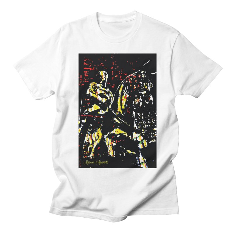 Armored Knight and Steed Men's Regular T-Shirt by MariecorAgravante's Artist Shop