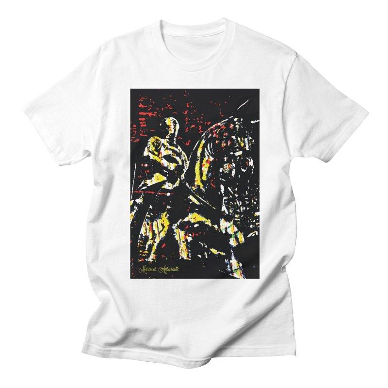 Armored Knight and Steed Women's Regular Unisex T-Shirt by MariecorAgravante's Artist Shop