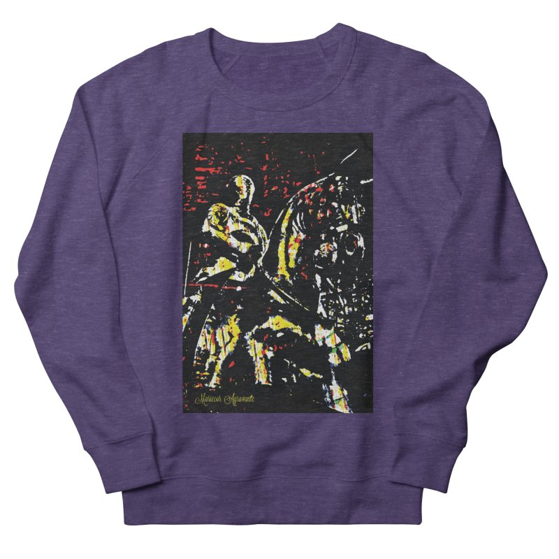 Armored Knight and Steed Women's French Terry Sweatshirt by MariecorAgravante's Artist Shop