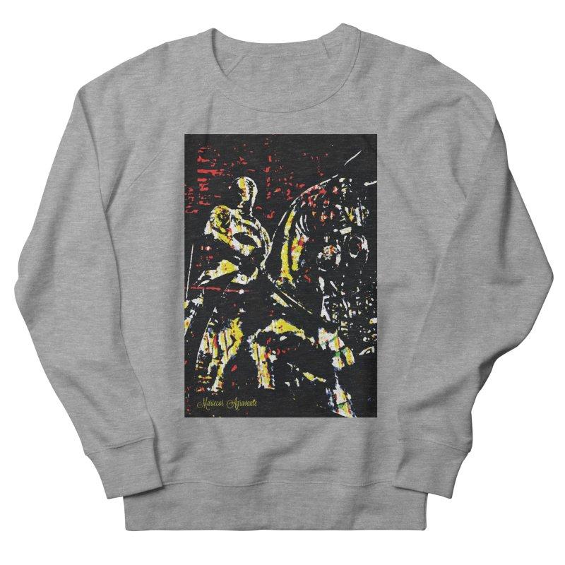 Armored Knight and Steed Women's Sweatshirt by MariecorAgravante's Artist Shop